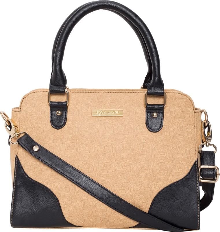 Beloved Women Black, Beige Hand-held Bag