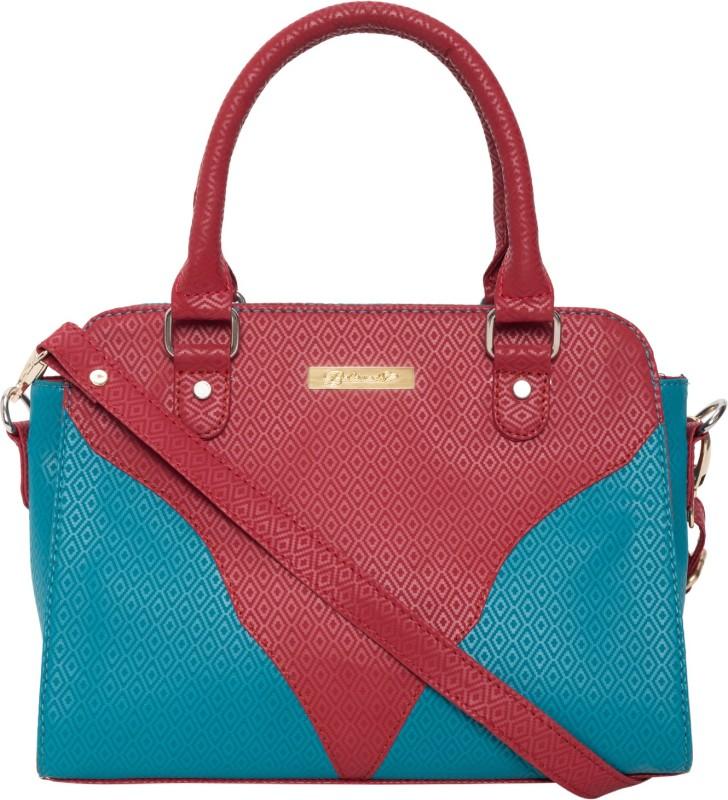 Beloved Women Blue, Maroon Hand-held Bag