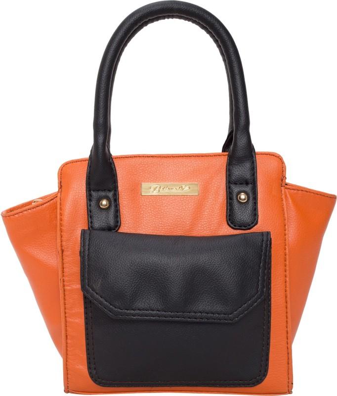 Beloved Women Black, Orange Shoulder Bag
