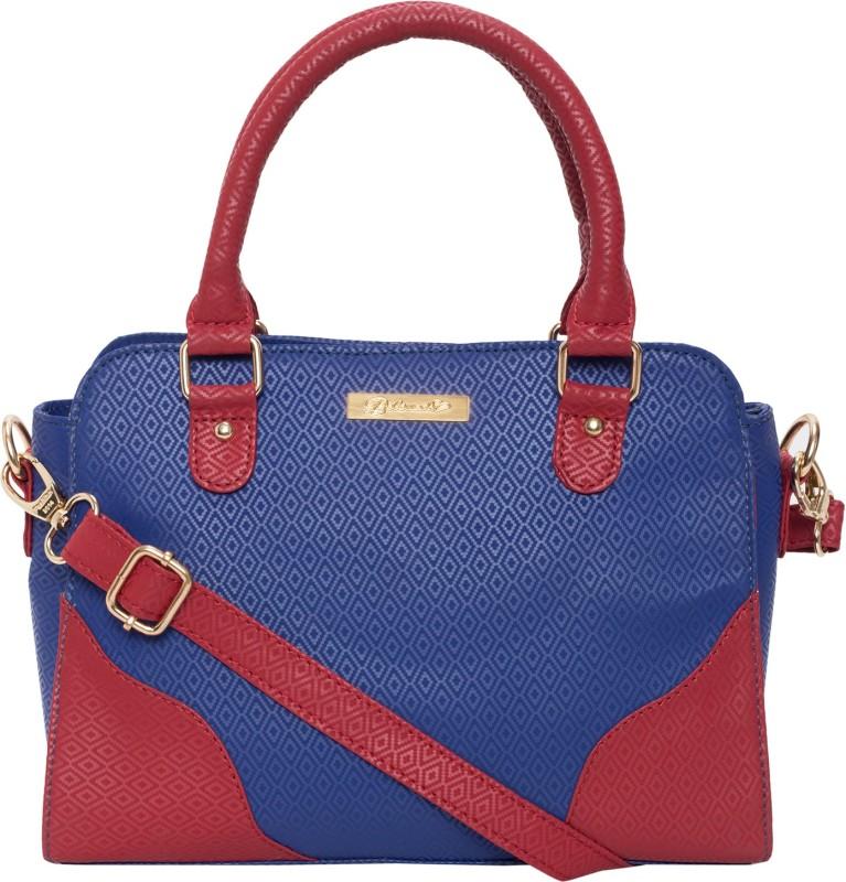 Beloved Women Red, Blue Hand-held Bag