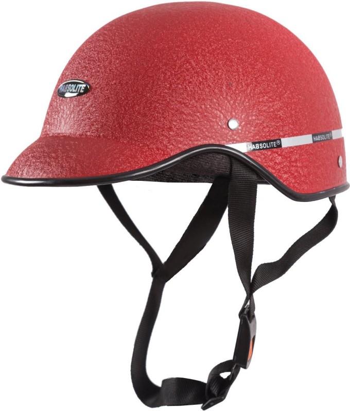MOTOFY Habsolite Multipurpose Motorbike Helmet(Red)