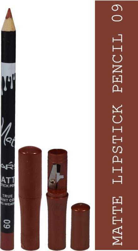 Mars Matte Lipstick Pencil True Instant Color-09 Long-Wearing(Irish Coffee)