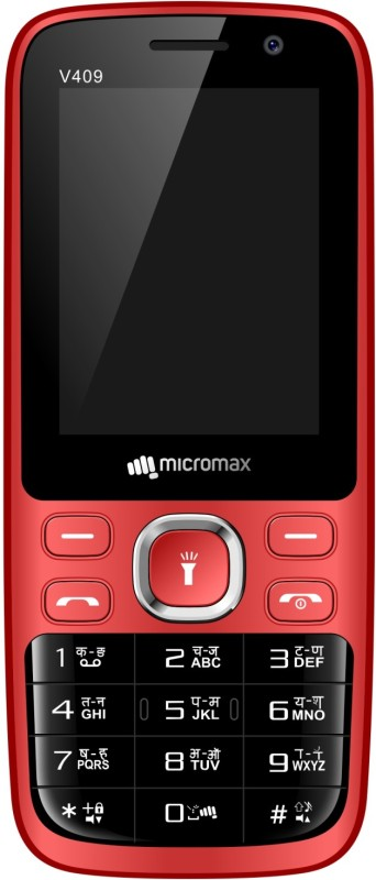 Micromax Bharat 1 V409(BLACK + RED)