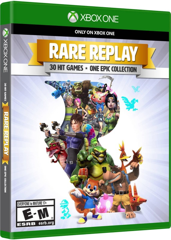 RARE REPLAY (30 HIT GAMES INCLUDED) (REPLAY EDITION)(Action n Adventure, for XBOX ONE)