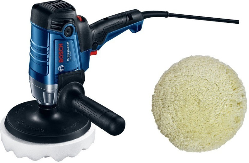 Bosch GPO 950 7inch Car Polisher with Wool pad Sponge pad and Stick pad M14 & M16 adaptor Vehicle Polisher(7 inch)