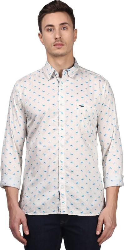 Park Avenue Mens Printed Formal Multicolor Shirt