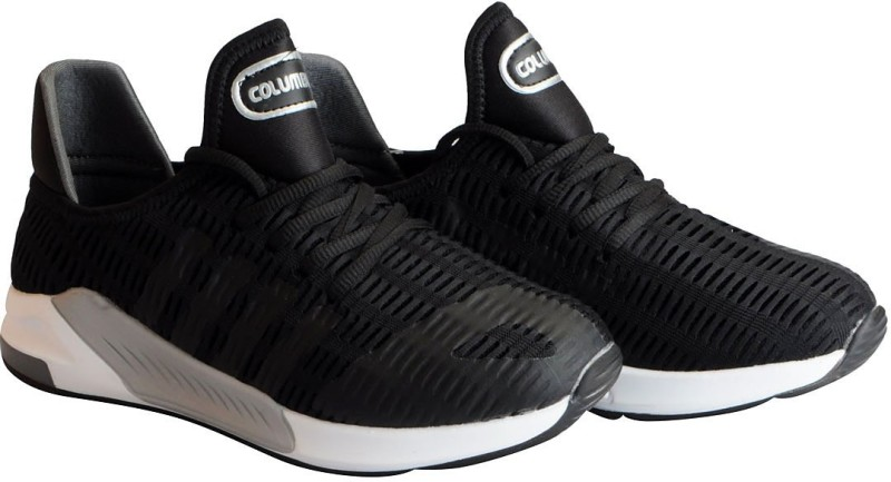Columbus CYCLONE Mesh Running Training & Gym Shoes For Men(Black)