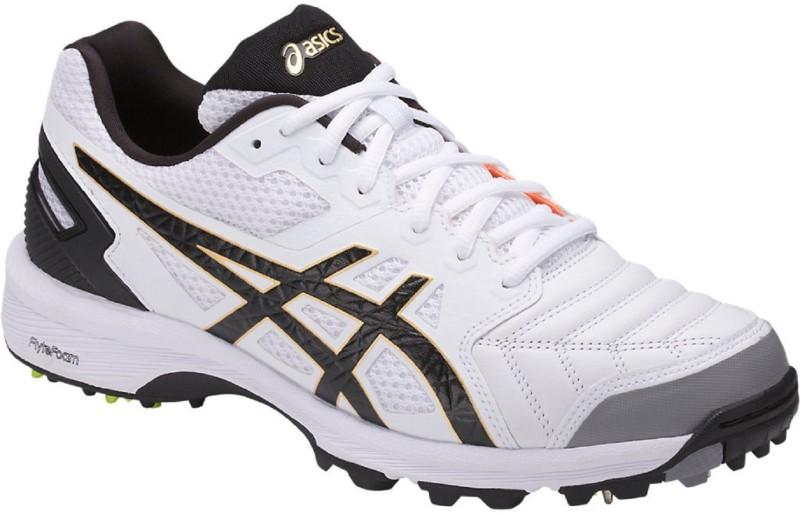 Asics Cricket Shoes For Men(White)