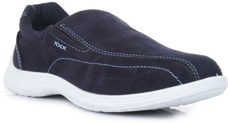 Liberty A-HA Slip On Sneakers For Men(Blue)