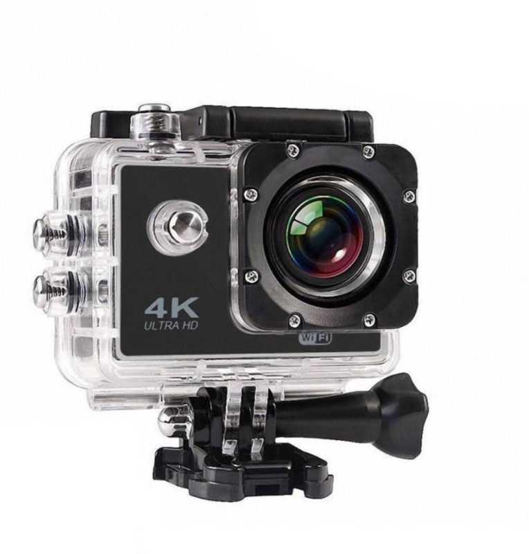Gentle E Kart 4k Water Proof With Wifi Sports and Action Camera(Multicolor 16 MP)
