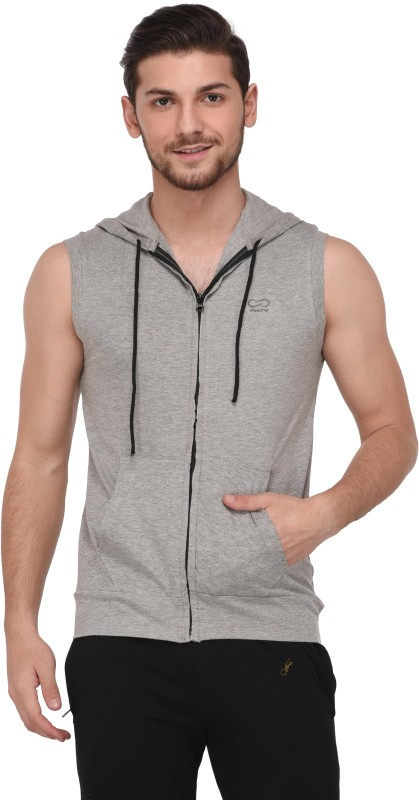 Finity Sleeveless Solid Men's Sweatshirt