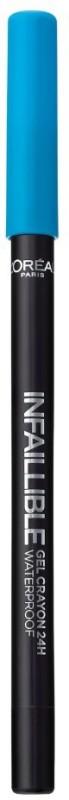 LOreal Paris Infallible Gel Crayon Eyeliner 1.2 g(Turquoise Vibes)