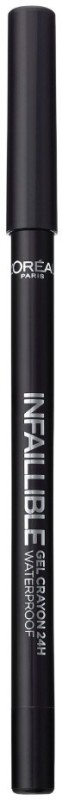 LOreal Paris Infallible Gel Crayon Eyeliner 1.2 g(Back to Black)