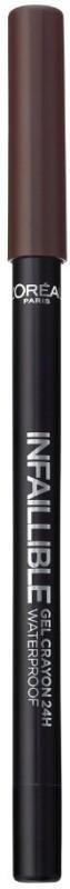 LOreal Paris Infallible Gel Crayon Eyeliner 1.2 g(Browny Crush)