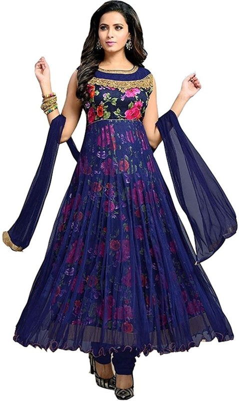 S.B Creation Brocade Printed, Embroidered Semi-stitched Salwar Suit Dupatta Material
