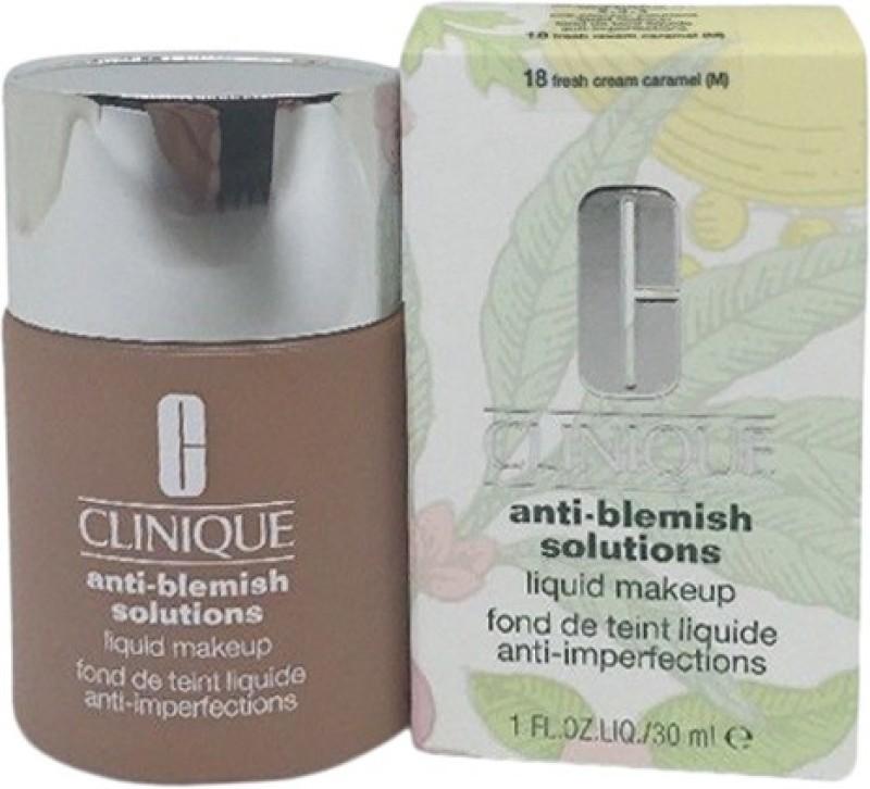 Clinique Anti Blemish Foundation(18 Fresh Caramel Cream, 30 ml)