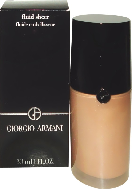 Giorgio Armani Fluid Sheer Foundation( 10, 30 ml)
