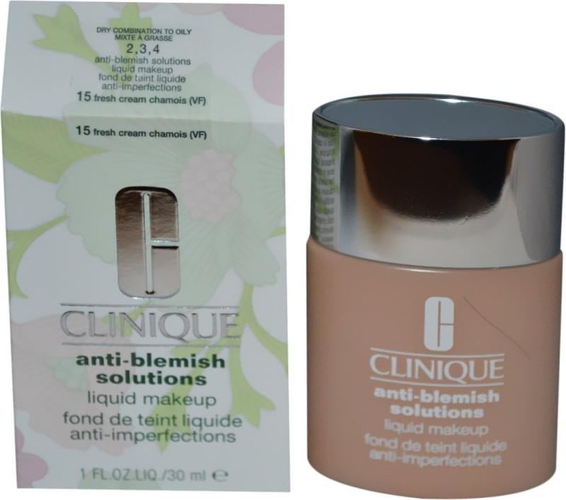 Clinique Anti Blemish Foundation(15 Fresh Cream, 30 ml)
