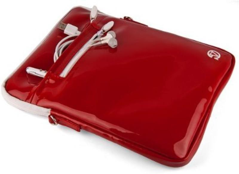Vangoddy 11 inch Sleeve/Slip Case(Red)