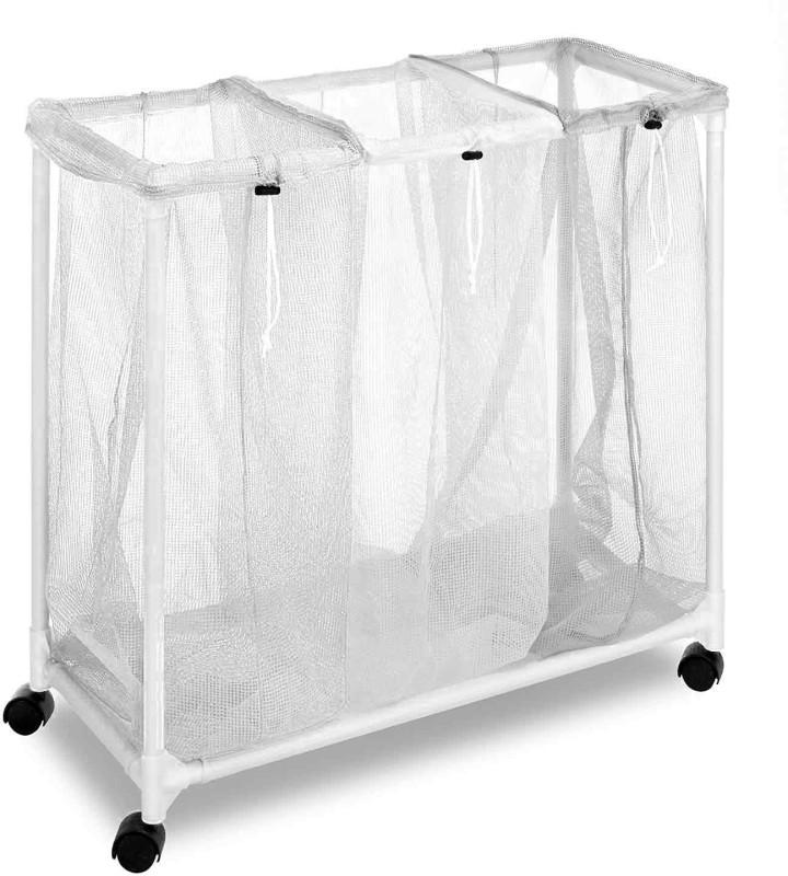 Shrih SHF-2222 Laundry Trolley(White)