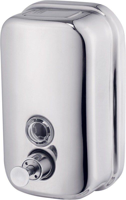 iTradeIMEX Steel Soap Dispenser 500 ml Soap, Shampoo Dispenser(Silver)