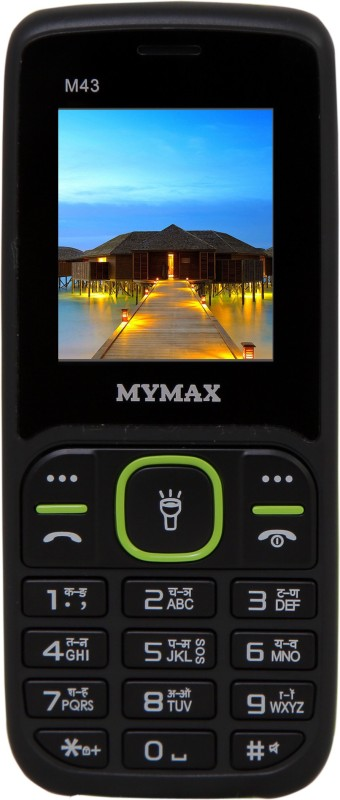 Mymax M43(Black & Green)