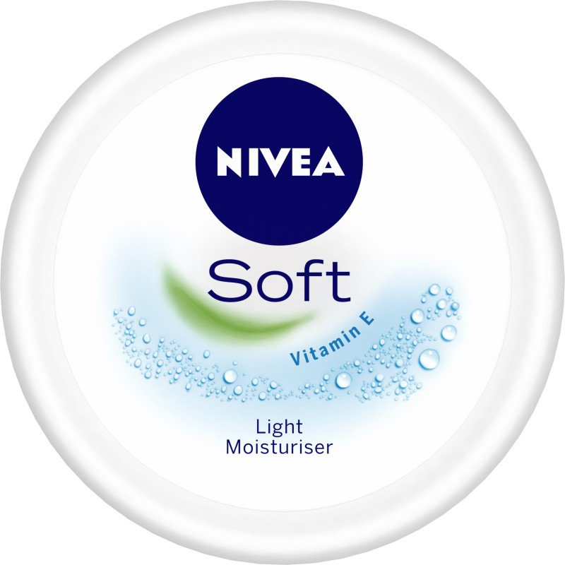 Nivea Soft Light Moisturiser(100 ml)