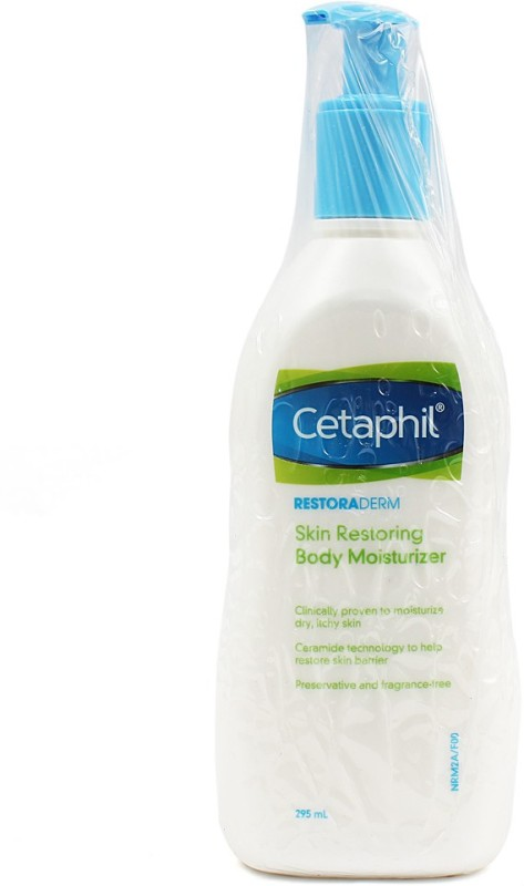 Cetaphil Restoraderm, Skin Restoring Body Moisturizer, for Very Dry Itchy Skin, 295ml(295 ml)