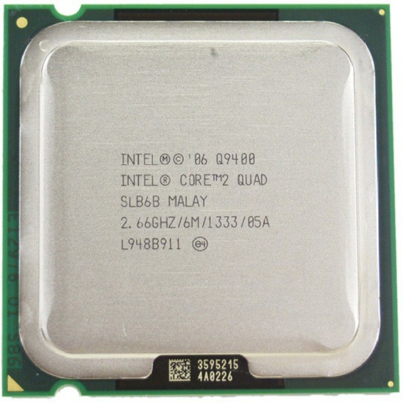 Intel 2.66 LGA 775 Core 2 Quad Processor Q9400 Processor(Silver)