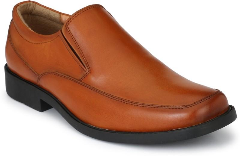 Delize Delize Classy Tan Slip-on Shoes Slip On For Men(Tan)