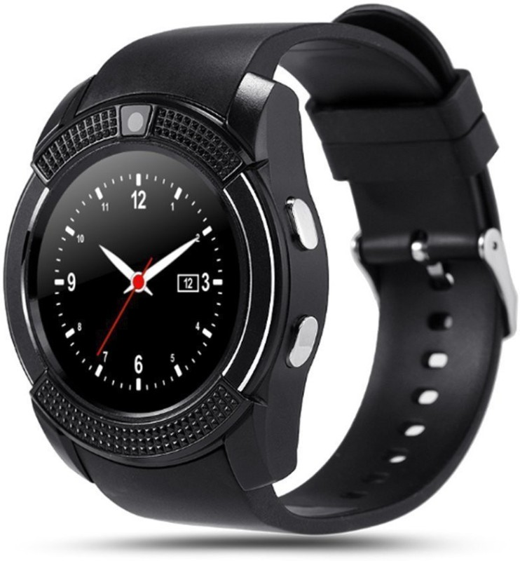 iBubble iBubble V8 Smart Bluetooth Wrist Watch Phone with SIM Card Support New Arrival Best Selling Premium Quality with Apps , Sedentary Remind & Sleep Monitoring Loud Speaker / Microphone / Touch Screen / Multi-Language Pedometer Sleep Monitor, Anti Lost Feature Touch Screen, Music Playing etc Sma