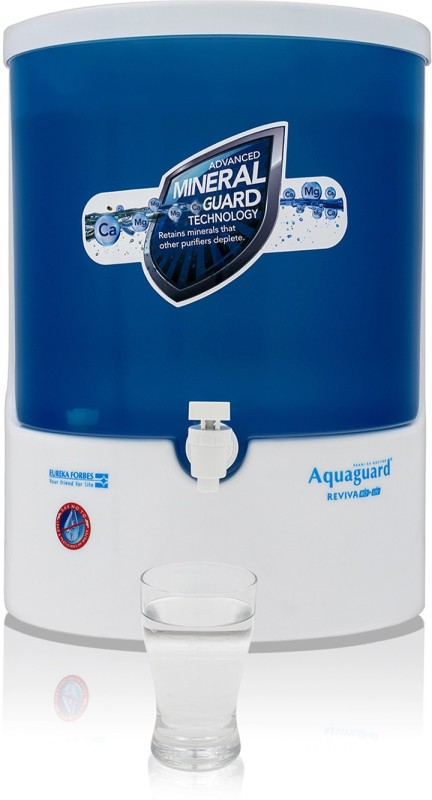 Eureka Forbes reviva ro 8 RO Water Purifier(Blue)