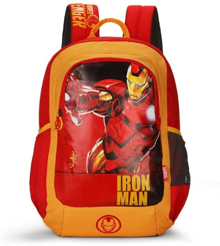 Skybags MARVEL CHAMP 18 L Backpack(Red)