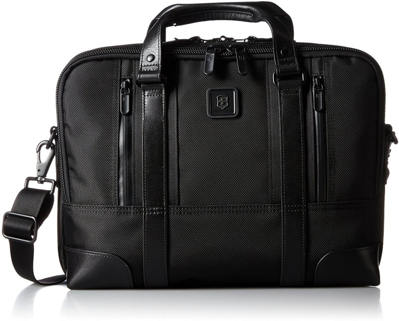 Victorinox Lexicon Professional Lasalle 13 Small Briefcase - For Men & Women(Black)