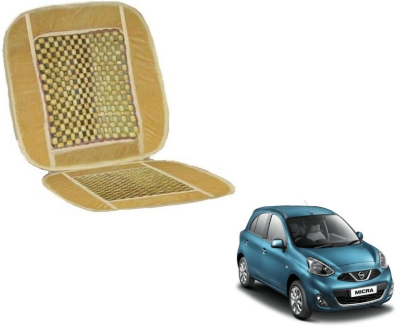 Auto Hub Velvet, Wood Car Seat Cover For Nissan Micra(5 Seater)