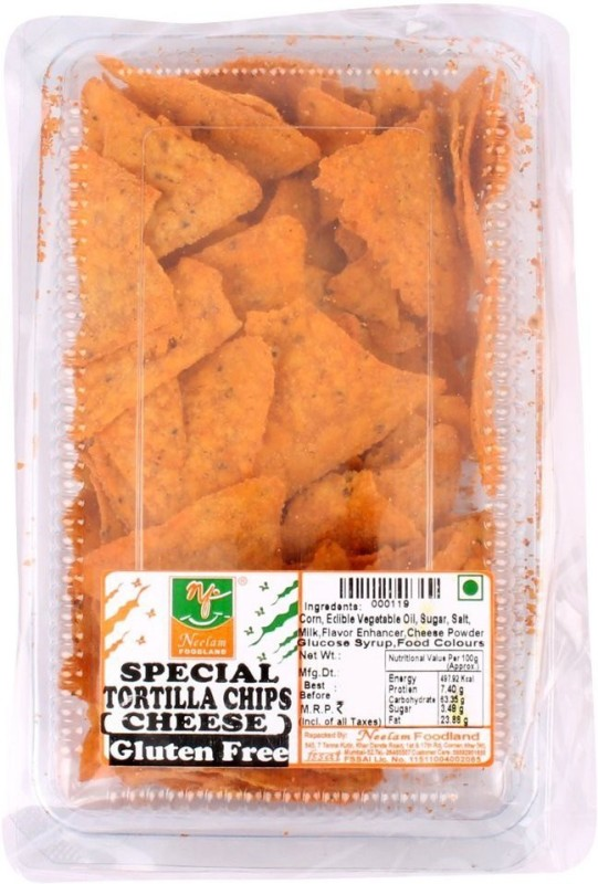 Neelam Foodland TORTILLA CHIPS CHEESE Chips(240 g)