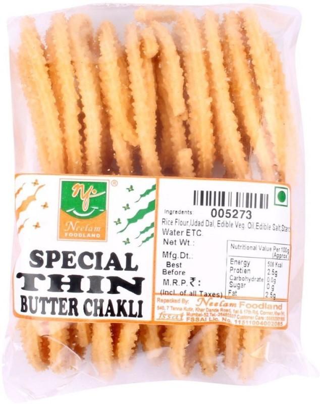 Neelam Foodland BUTTER-CHAKLI Chips(400 g)