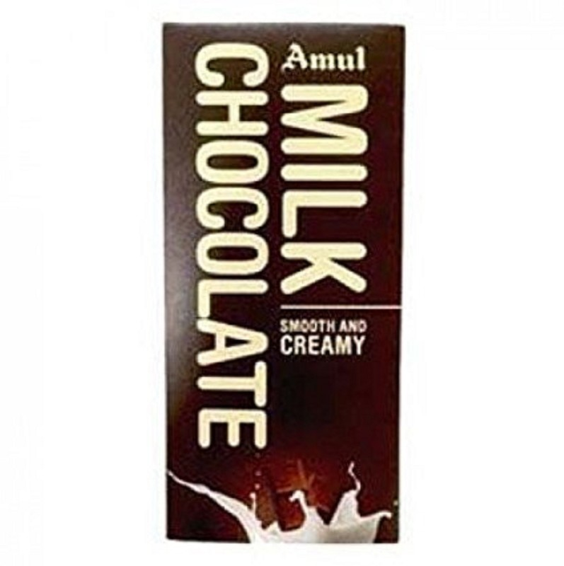 Amul Smooth and Creamy Milk Chocolate 125Gm (PACK OF 5) Bars(Pack of 5, 625 g)