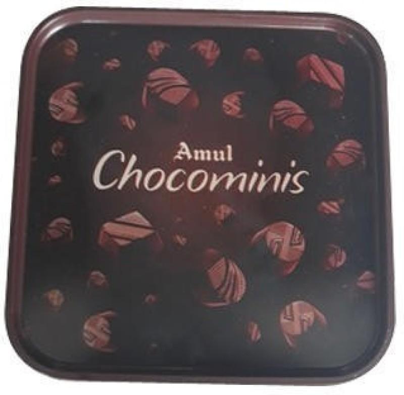Amul Chocominis Chocolate 250 Grams Bars(250 g)