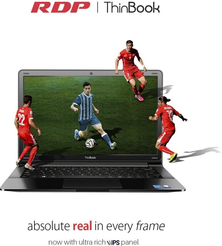 RDP ThinBook Atom Quad Core 8th Gen - (2 GB/32 GB EMMC Storage/Windows 10) 1130-EC1 Laptop(11.6 inch, Black) image