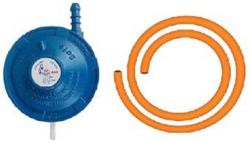 Glowlight High Pressure Gas Cylinder Regulator(Iron, PVC (Polyvinyl Chloride))