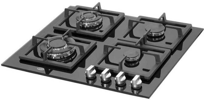 Kaff NQ2T60BG Glass Automatic Gas Stove(4 Burners)