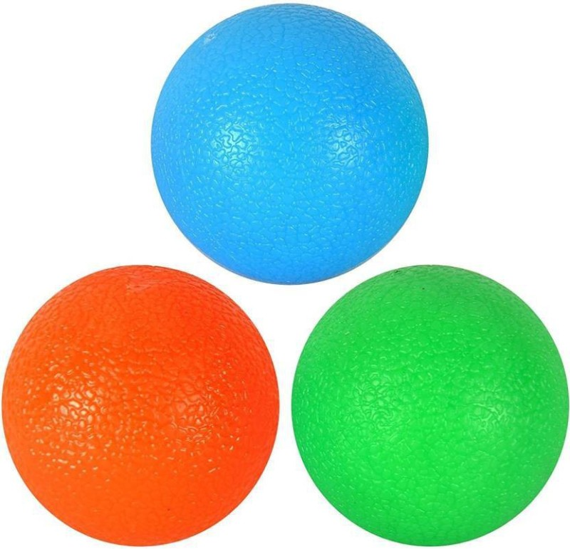 COCKATOO GRIP BALL SET (5cms) SOFT, MEDIUM, HARD Massage Ball(Pack of 3, Multicolor)