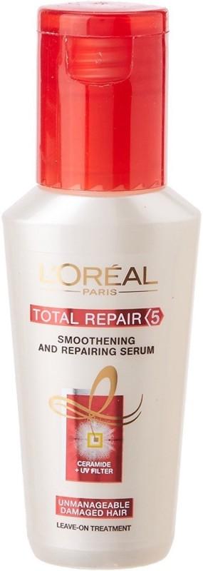 LOREAL Paris Total Repair Smoothening And Damaged Hair Repairing Serum 40ml(40 ml)