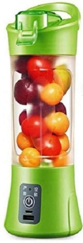 care 4 USB Rechargeable Blender Juicer with sipper (Multicolor, 1 Jar) 60 Juicer Mixer Grinder(Green, 1 Jar)