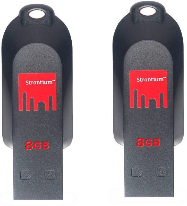 Strontium POLLEX 8 GB Pen Drive(Multicolor)