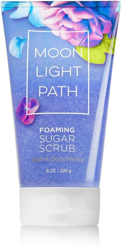 Bath & Body Works Foaming Sugar Scrub, Moon Light Path - 226g (8oz) Scrub(226 g)
