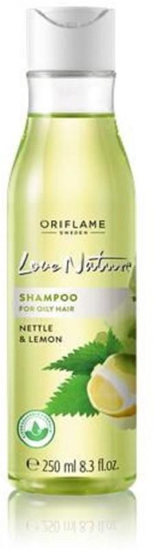 Oriflame Sweden LOVE NATURE Shampoo for Oily hair with Nettle & Lemon(250 ml)