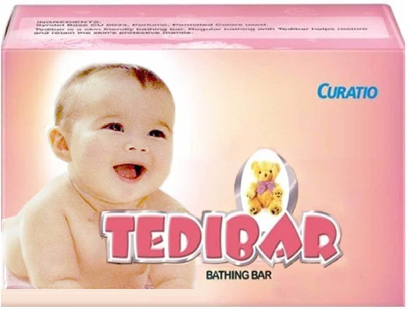 Curatio tedibar soap pack of 4(4 x 75 g)