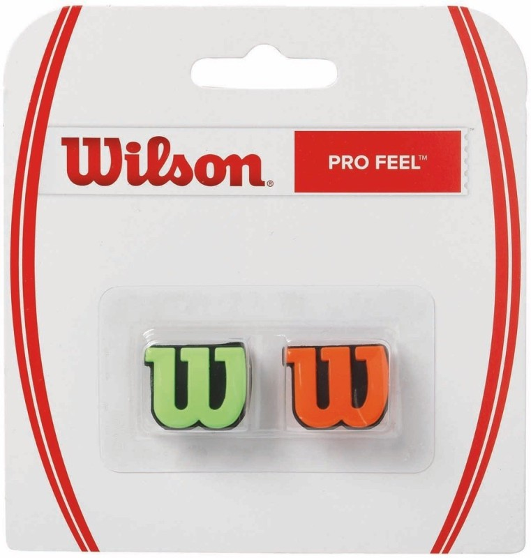 Wilson PROFEEL VIBRATION DAMPENER(Green, Orange, Pack of 2)